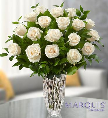 Marquis by Waterford® Premium White Roses